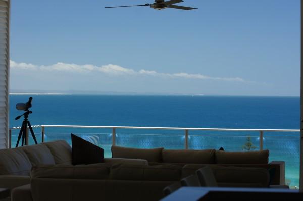 Our Living Room Aqua Coloured View